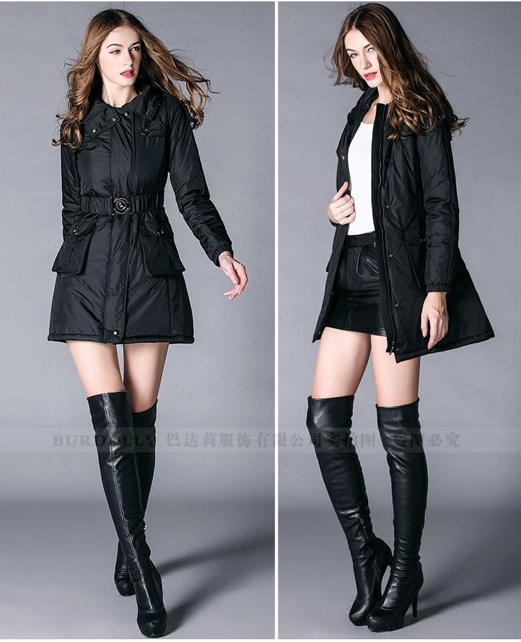2017 BURDULLY Large Size Parkas For Women Winter Black Cotton Jacket Female Outwear Long Parka Jackets Autumn Coat Jaqueta Femin