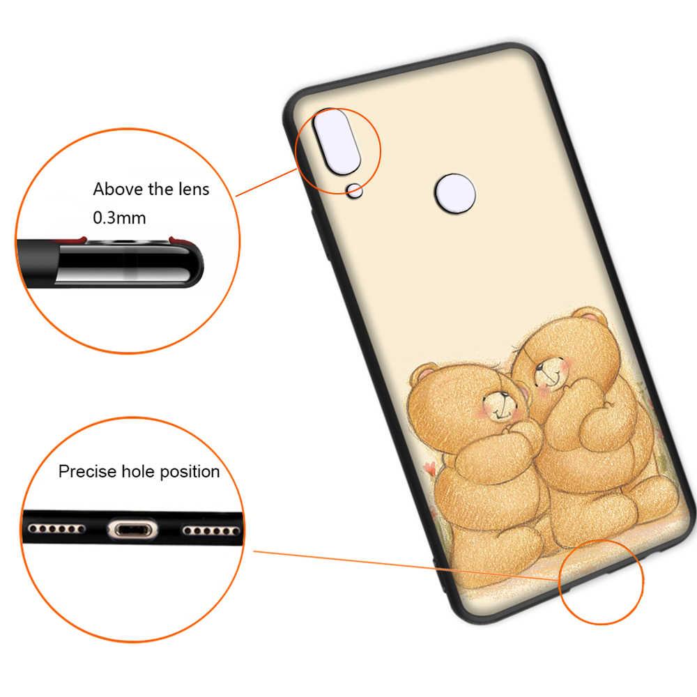 Boneka Beruang Teddy Soft Case untuk Xiaomi Redmi Note 4 4X6 7 8 Pro 5 Plus 5A 6A cover