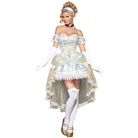 InCharacter Complete Outfit Passionate Princess Costumes Sexy Strapless Ladies' Kostum Fancy Dress For Women Halloween Costume