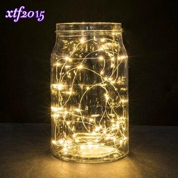 Lampki LED zasilane na baterie
