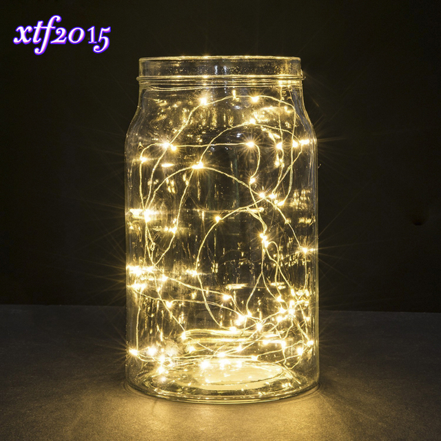 Led Starry String Lights Fairy Micro Leds Copper Wire Battery Decoration Warm Lamp Holiday Wedding Light For Christmas Gl