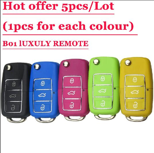 Free shipping (5 pieces)Keydiy B01L-03 Luxury 3 Button Remote Key with 5 colours for URG200/KD900/KD200 machine free shipping free shipping 5 pieces keydiy kd900 nb07 3 button remote key with nb ett gm model for chevrolet buick opel etc