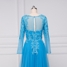 Beauty-Emily Appliques Lace A-line Full vestido de noche Mother of the Bride Dresses 2017 Party Dress Formal Occasion Dresses