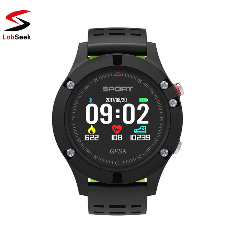 F5 GPS Smart Watch Altimeter Barometer Thermometer Bluetooth 4.2 Smartwatch Wearable devices for iOS Android Phone