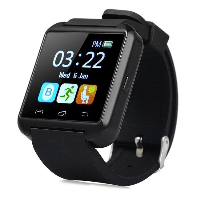 U8S Smart Watch Спорта На Открытом Воздухе Bluetooth 3.0 Сна Tracker Шагомер Входящий звонок Сообщение для Android телефон с Оригинальной Коробке