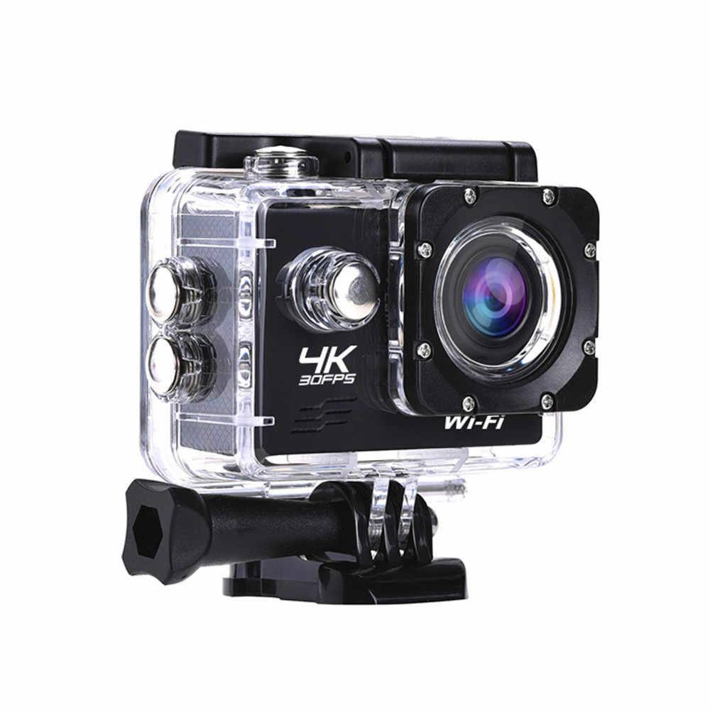 AT-Q1 スポーツアクションカメラ 4 18K 1080 1080p Wifi 2.0 インチ 30 メートル水中防水スポーツカムサーフィンダイビングアクセサリー