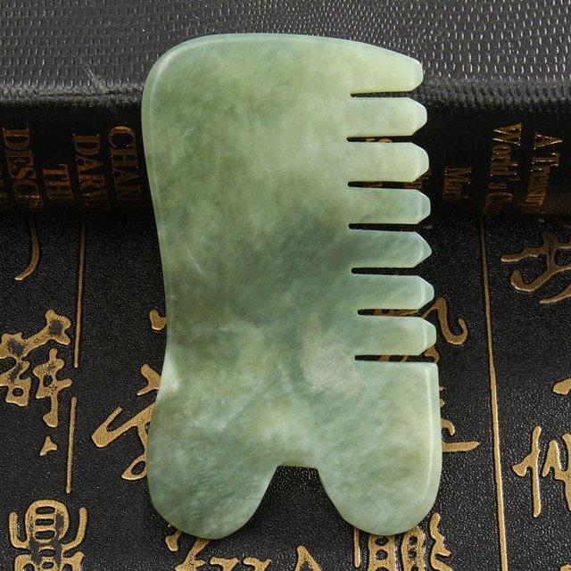 Jade Stone Gua Sha Comb