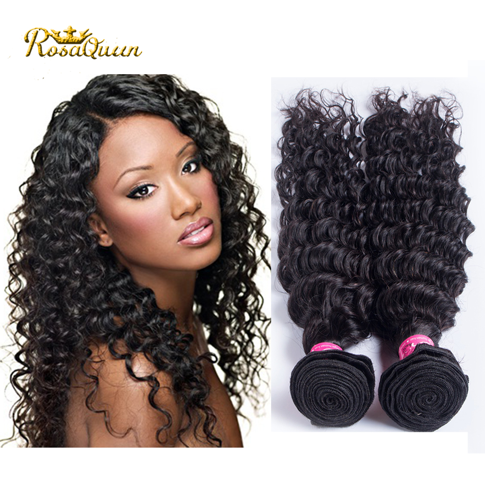 Best 7a Ali Moda Hair Indian Deep Wave 1 Bundle Indian Curly Virgin