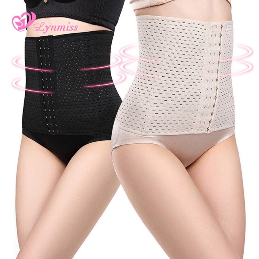 2018 Lynmiss Schwarz Plus Taille Trainer Körper Shaper Cincher Shapewear Modellierung Strap Former Für Frauen Gürtel Shapewear Gürtel