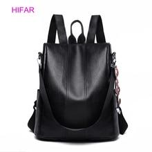 2019 New Leather Backpack Women Anti-theft Backpacks For Teenage Girls Multifunction Large Black Bag Female Back Pack Sac A Dos цена в Москве и Питере