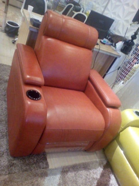 living room sofa  Recliner Sofa, Genuine Leather Recliner Sofa, Cinema Leather Recliner Sofa 1+2+3 seater for home furniture
