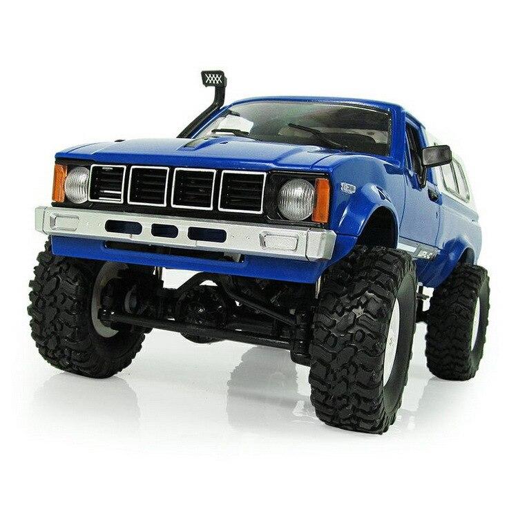 WPL RC voiture C-24 Jeep 4WD RC voiture télécommande jouet 1:16 modèle voiture 2.4G tout-terrain RC haute vitesse camion RTR voiture pour enfant cadeau