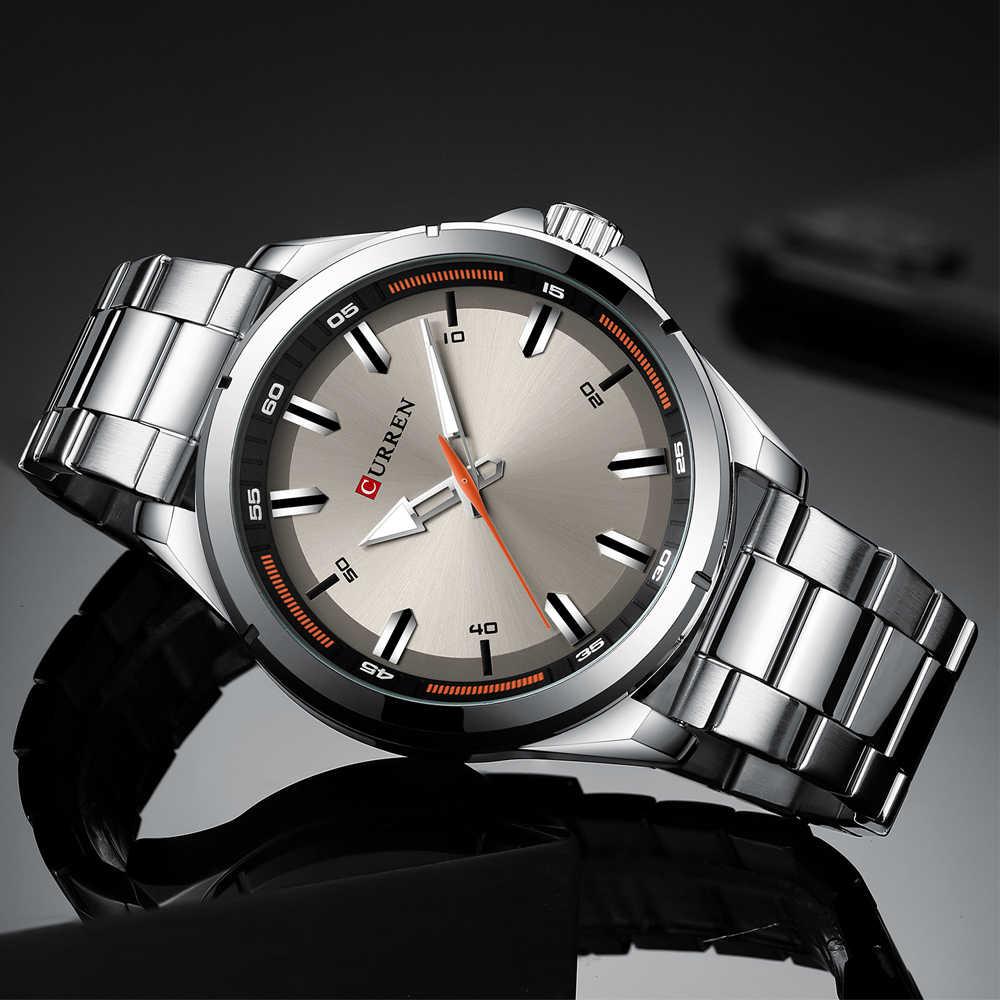 ใหม่ล่าสุด CURREN แบรนด์หรูนาฬิกาผู้ชายกองทัพทหาร Analog ควอตซ์นาฬิกาข้อมือผู้ชายนาฬิกา Relogio Masculino