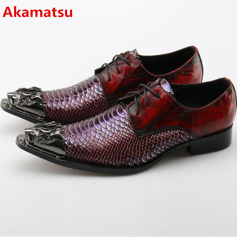 Akamatsu Plus size mens patent leather black shoes snake skin formal shoes pointed toe dress shoes studded loafers shoe lasts choudory summer dress crocodile skin shoes men breathable prom shoes full grain leather pointy mens formal shoes shoe lasts