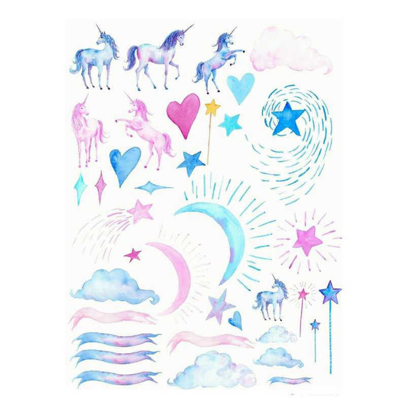 2 unids/lote de calcomanías de estrella de mar de verano, conchas decorativas, pegatinas Kawaii sin cortar, colección de recortes, papelería, conjunto de cintas Washi, suministros escolares