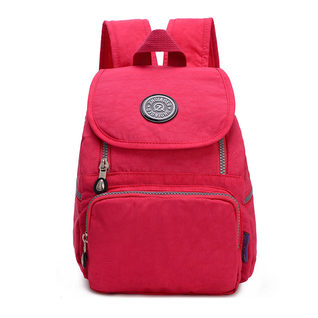 f8f007e48bad Fashion Casual Mini Women Daily Backpack Floral Good Quality Ripstop Small  Waterproof Nylon Backpacks for Girls