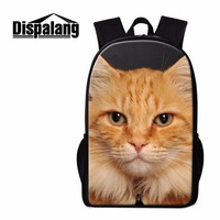 Dispalang Cute Cat Backpack for Primary Students Children School Bag Personalized Girly Rucksack Boys Mochilas Casual Day Pack