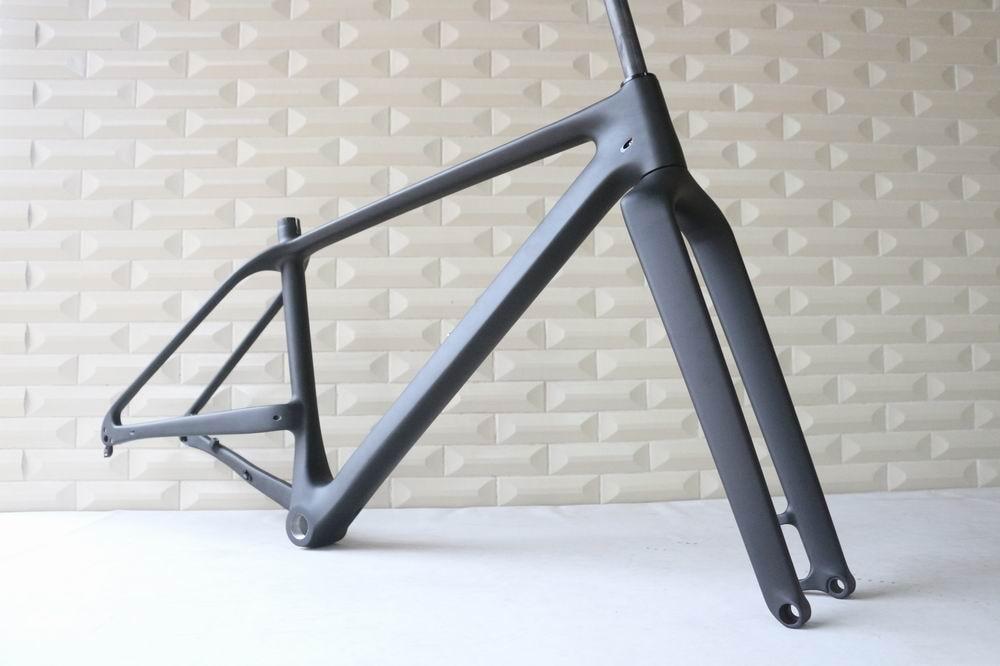 Oem products No Foldable 27.5er Plus Hard Tail 650B Carbon MTB Mountain Bike Frame