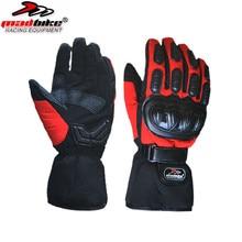 Бесплатная доставка зимних видов спорта windstopper непромокаемые лыжные перчатки черные-30 теплые перчатки для верховой езды перчатки Мотоцикл перчатки