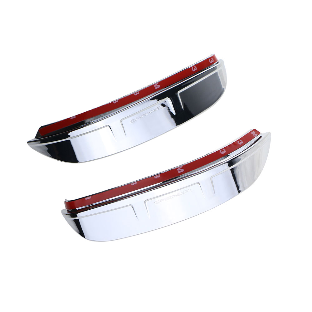 Jameo Auto 2Pcs/Set ABS <font><b>Chrome</b></font> Car Rear View <font><b>Mirror</b></font> Trim Rearview <font><b>Mirror</b></font> Protection Cover Sticker for <font><b>Kia</b></font> Sportage R 2012 - 2016 image