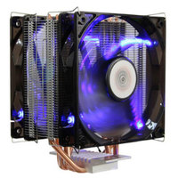 New Style 401 Version Of A Desktop Computer CPU Heat Pipe Radiator 4 CPU Fan High