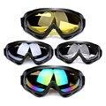 Colorido transparente PC Óculos de Proteção Anti UV Olhos Óculos de Protecção À Prova de Poeira À Prova de Vento Óculos de Proteção Da Motocicleta Motor Bike Equitação Goggle
