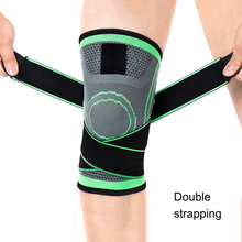 1pcs Breathable Warmth Kneepad Winter Sports Safety Knee Pads Training Elastic Support Protect Polyester New Hot Sale