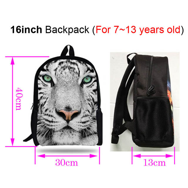 6728837513b4 placeholder 16-inch Mochila Skull Backpack School Kids Bags Boys Backpack  Child Black Skull Bag Pirates