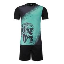 05dd3c62b Padrão de personalidade Juventude Crianças Camisas De Futebol Define  Criança Kit Uniformes de Futebol Camisas Do