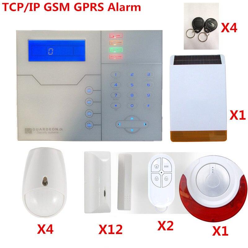KIT DIY Francês ST-VGT TCP Comando de Voz do Sistema de Alarme GSM Sistema de Alarme Inteligente Sistema de Alarme de Segurança De Controle De Internet