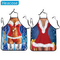 New Creative Christmas Apron Funny Sex Woman Uniforms Temptation Polyester Dress Gifts Christmas Decoration For Home