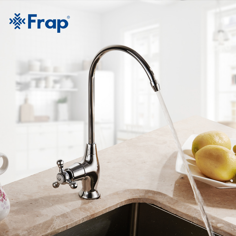 Frap Durable Simple Kitchen Faucet Basin Sink Tap Single Lever Cold Water Direct drinking faucet Excellent