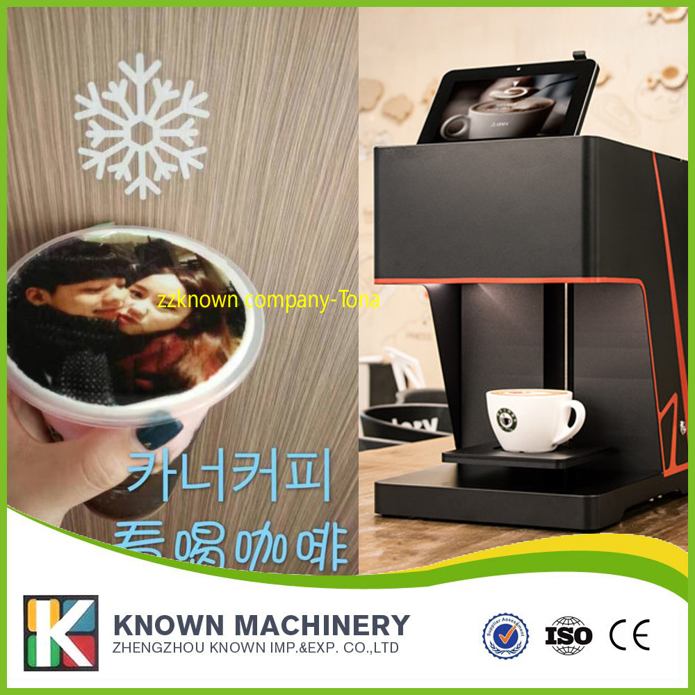 купить 10% discount Digital Printer Type and Automatic Grade coffee printer недорого
