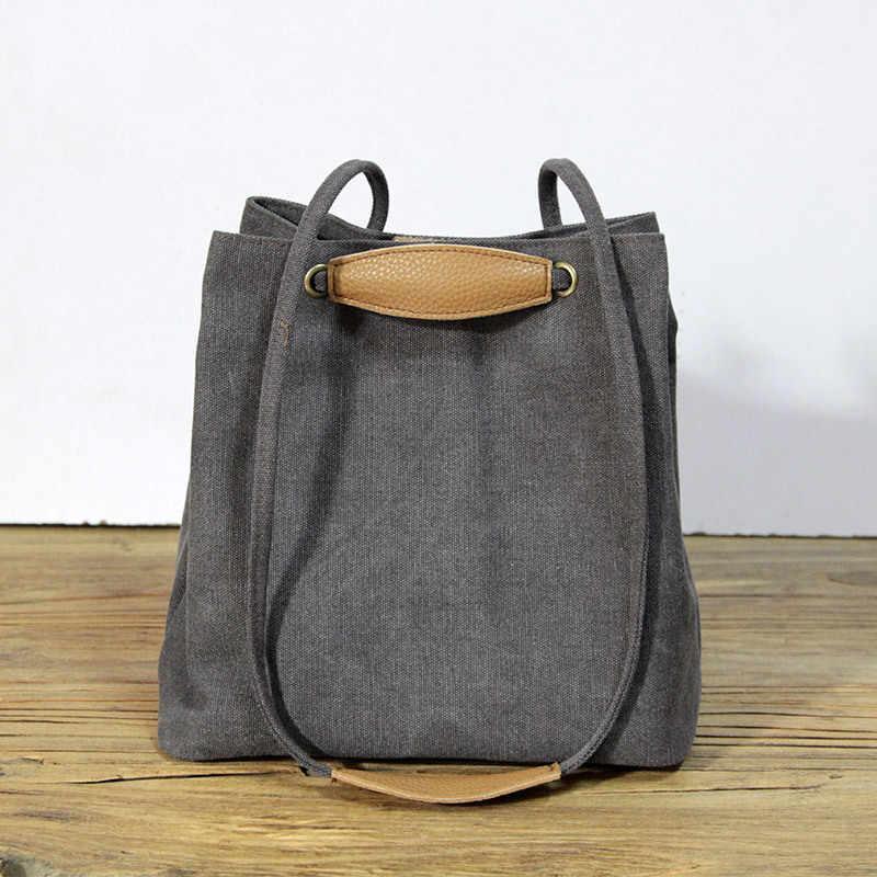 2018 New Original Women Crossbody Bags Top Cotton Cloth Shoulder Tote Designer Messenger Handbag For Ladies Bolsa Feminina MH05