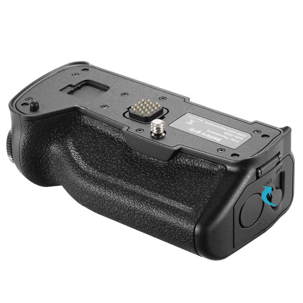 Вертикальная сменная ручка для камеры Neewer для оригинального DMW-BGG1 для Panasonic G80 G85