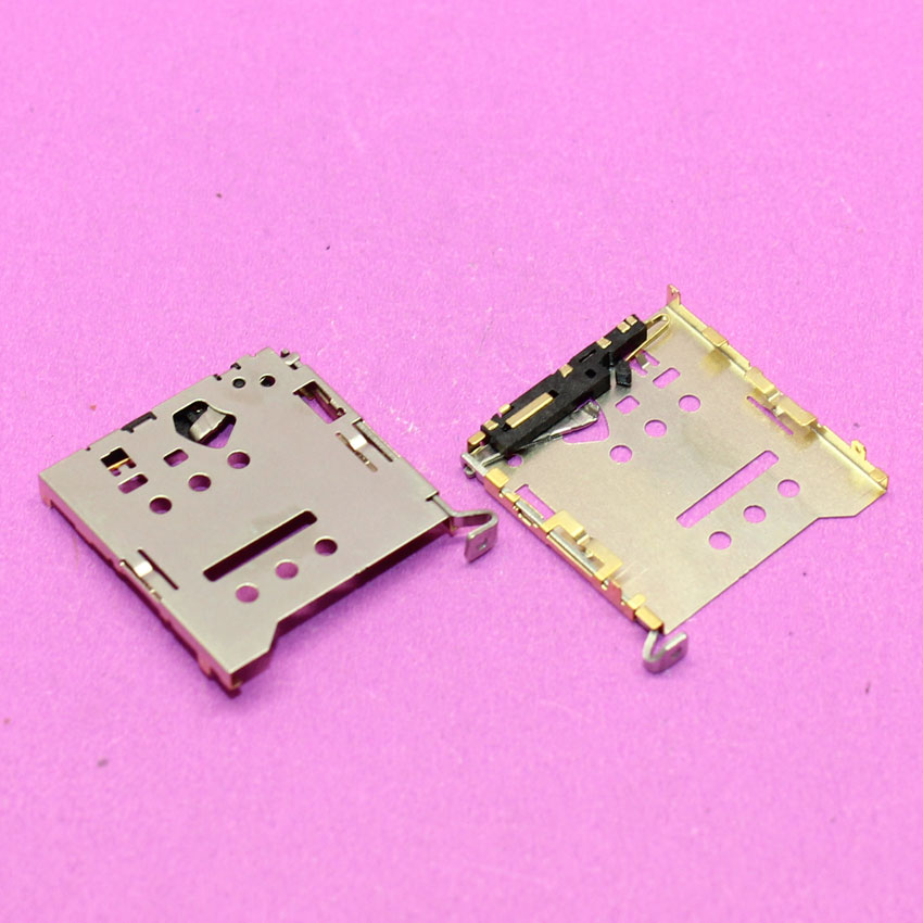YuXi 1pcs Brand New Sim card socket sim card reader holder tray slot module replacement for Xiaomi 4 M4 Mi4.