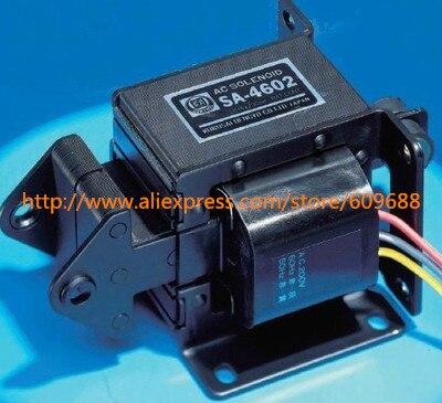 Électroaimant actif de Tractive de solénoïde à ca économiseur d'énergie de SA-4602 AC220, accessoires de puissance