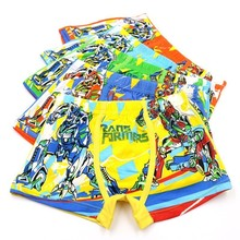 3 Unids/batch Of Childrens Underwear New Babys Boxer Calcium 3-11 T