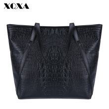 XQXA Black Casual Women Shoulder Bags