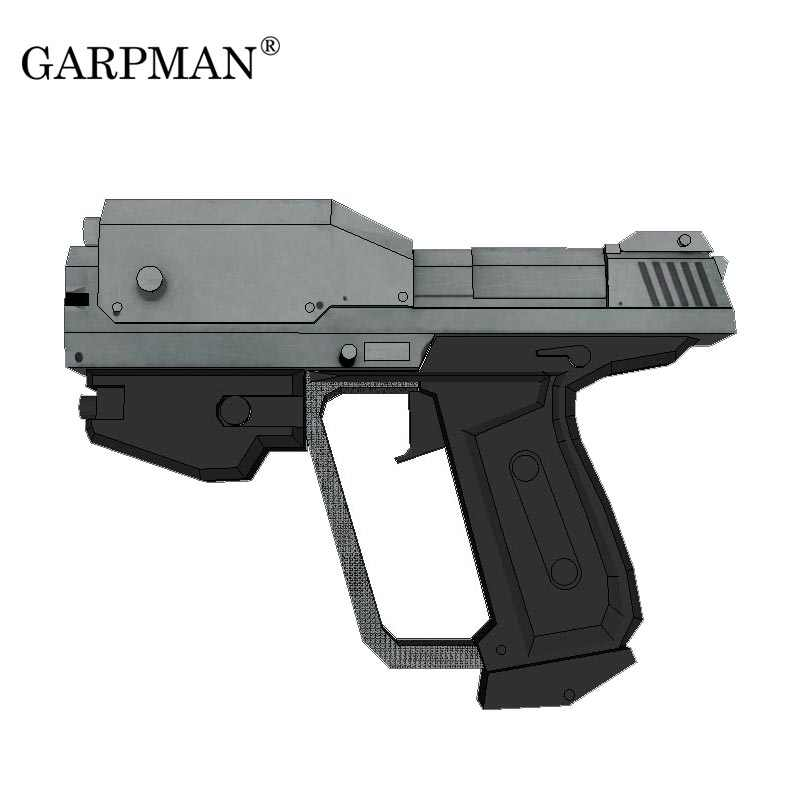 Detail Feedback Questions about 1:1 Wars Human Pistol 3D