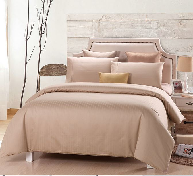luxury duvet cover set tc beige color bedding set 100 egyptian cotton 4 pcs - 100 Egyptian Cotton Sheets