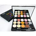 Popular15 Color/set Shimmer Fashion Color Matt Eyeshadow Palette with Mirror Applicator Makeup Cosmetic
