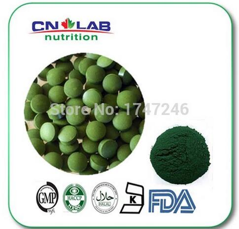 Free Shipping Spirulina Tablet 500mgx10000Pcs for Weight Loss Spirulina Tablet