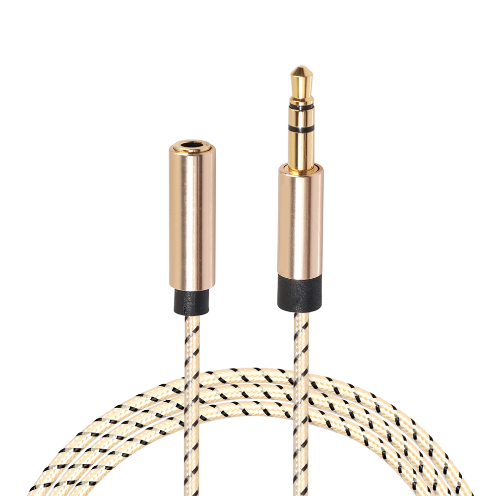 jack male to female aux audio cable extender headphone extension splitter audio. Black Bedroom Furniture Sets. Home Design Ideas