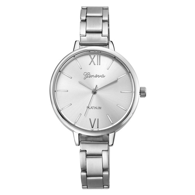 Zegarek damski Geneva Narrow srebrny