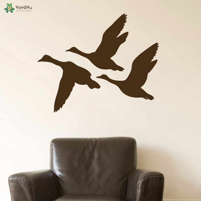 Flying Duck Wall Stickers ✓ Bahuma Sticker
