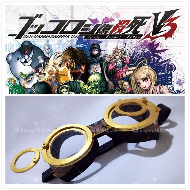 Handmade Anime Danganronpa V3 Iruma Miu Cosplay Accessory Glasses Exclusive production Goggles Prop