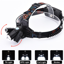 Zure Zoomable Headlamp Super Bright LED Rechargeable Headlight for Running USB Cable 4 Modes