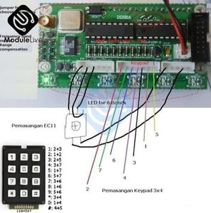 Image 3 - AD9850 6 Bands 0~55MHz DDS Signal Generator Digital HAM Radio RIT VFO SSB