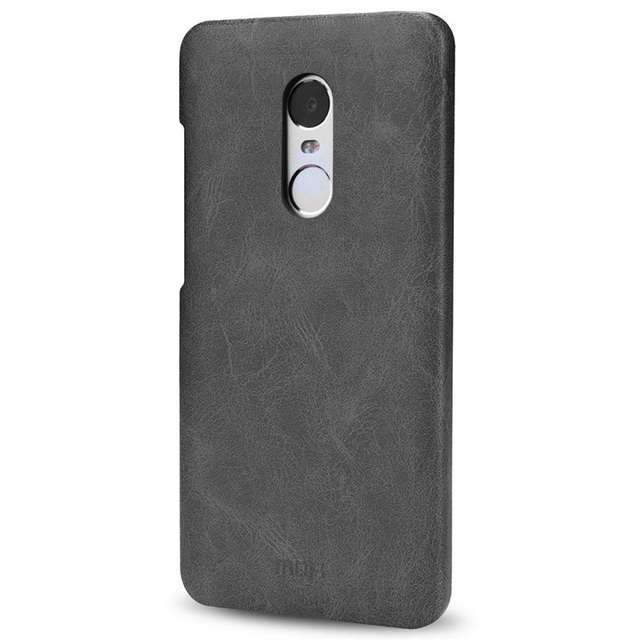 check out a075f f7aad Aliexpress.com : Buy xiaomi redmi note 4 global case back PU leather mofi  hard cover thin leather luxury smooth capa global xiaomi redmi note 4 case  ...